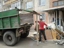 Предложение: Вывоз погрузка мусора.уборка территории