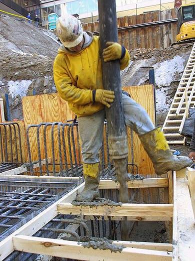 Зарплата бетонщика в москве