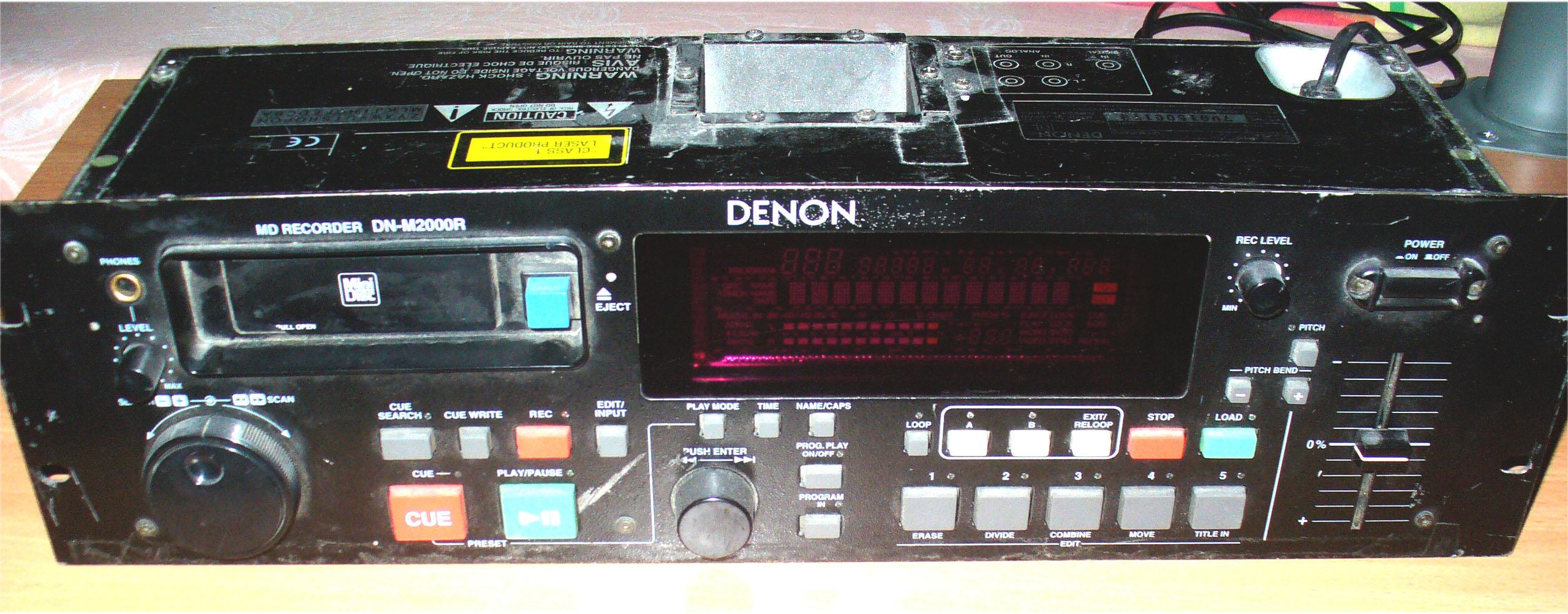 Продам DJ мини-дисковый плеер Denon DN-M2000R