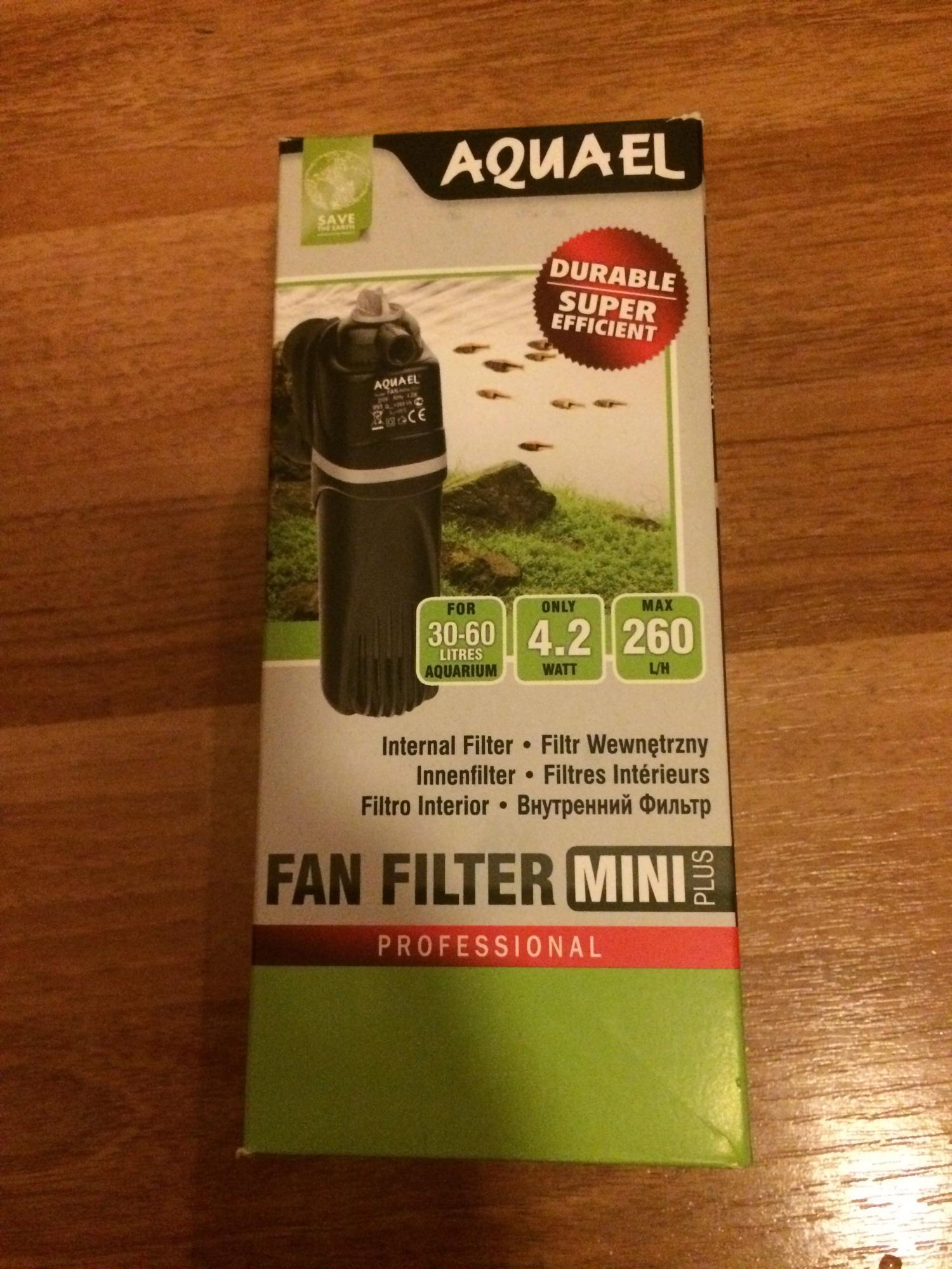 Продам фильтр для аквариума до 60литров