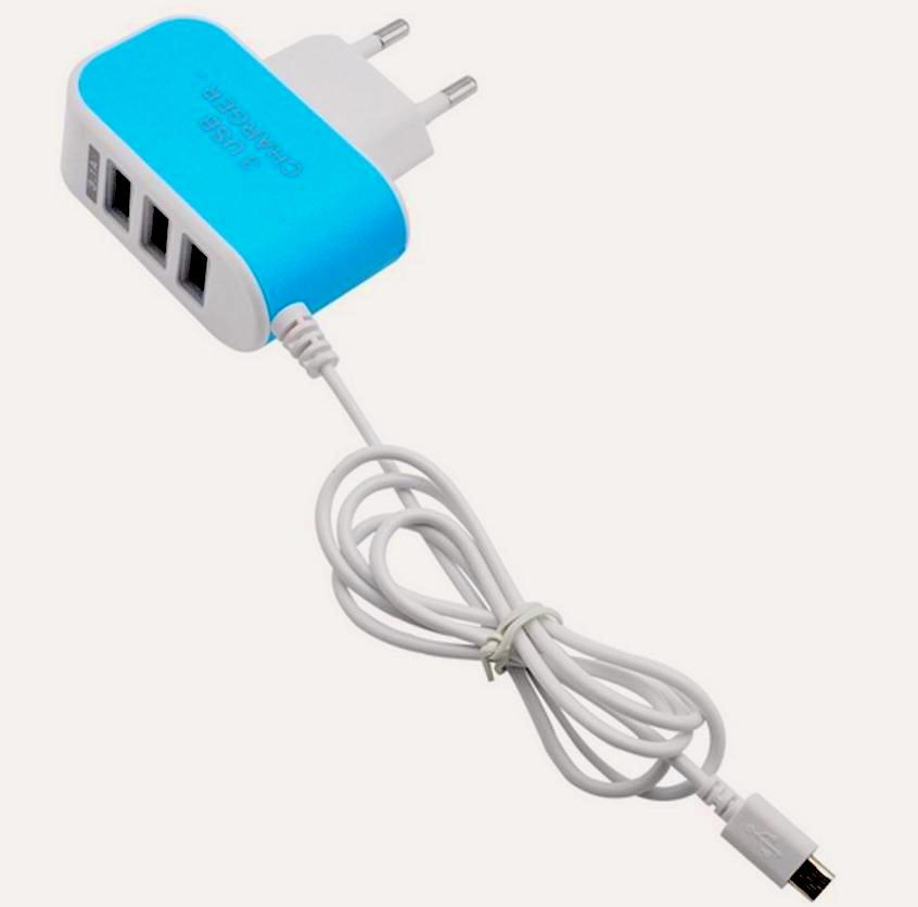 Продам зарядку от сети на 4 устройства