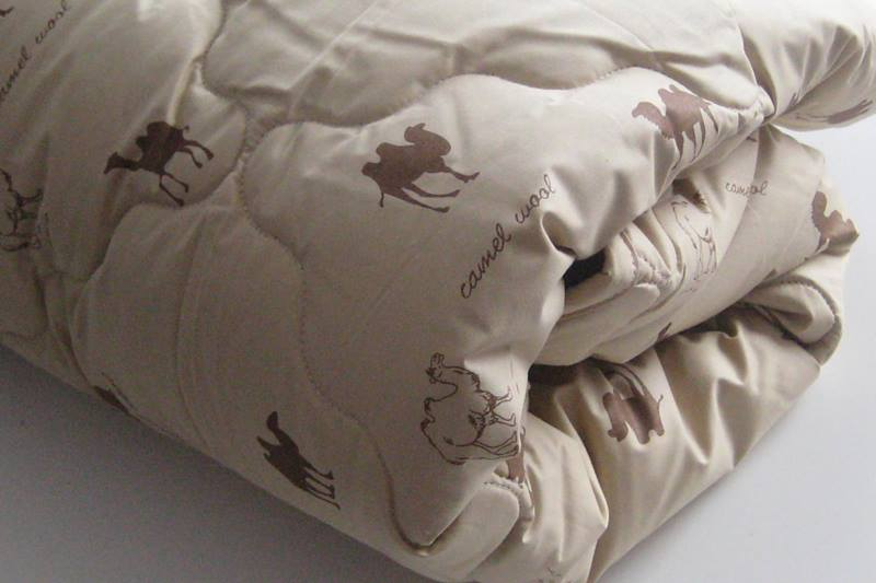 Продам одеяло верблюжья шерсть в хлопке