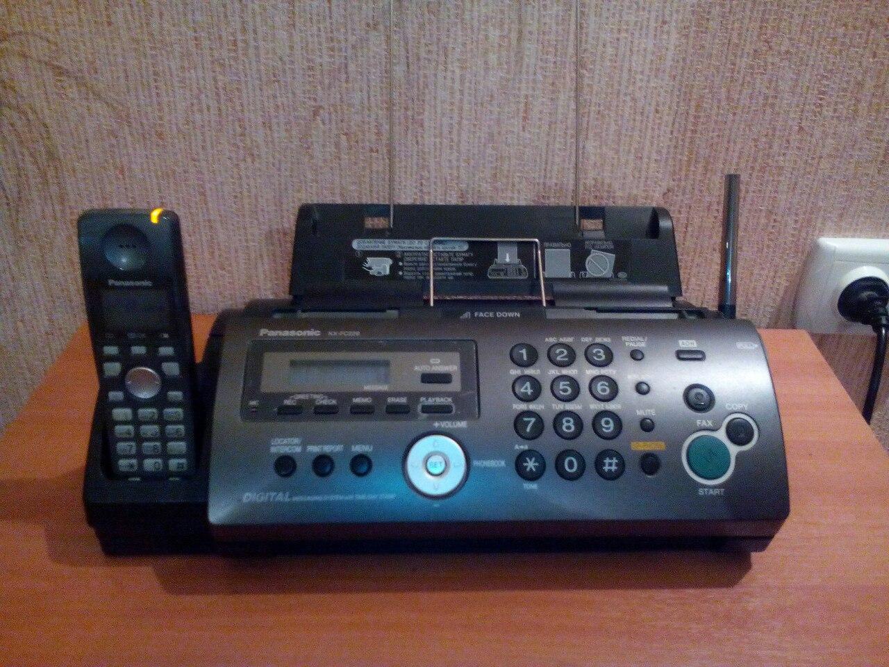 Продам: факс-телефон PanasonikKX-FС228