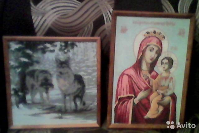Продам Продам картины- вышивки крестиком, ручна