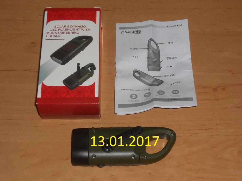 Продам Электродинамический карманный фонарик