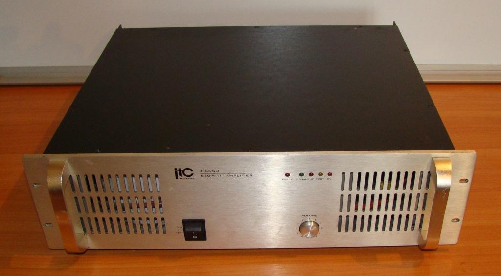 Продам усилитель мощности ITC T-6650