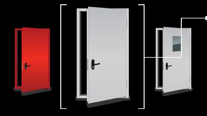 Продам Противопожарные двери,Металлические двер