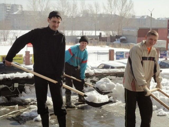 Предложение: Чистка снега Уборка территоий