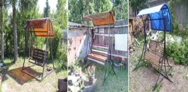 Продам Качели разборные садовые