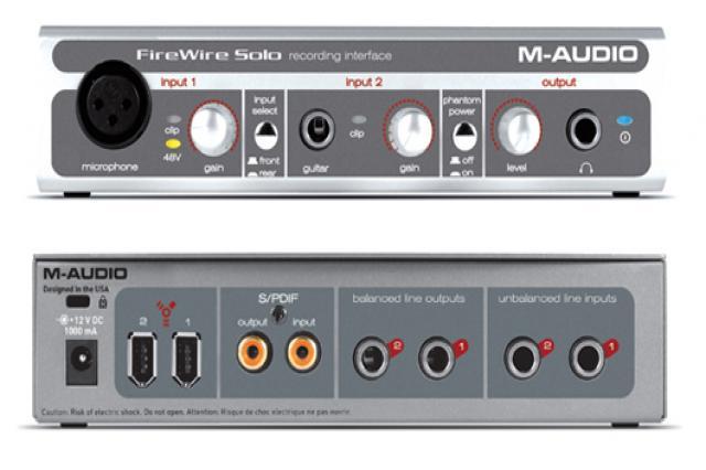 Продам m-audio FireWire solo
