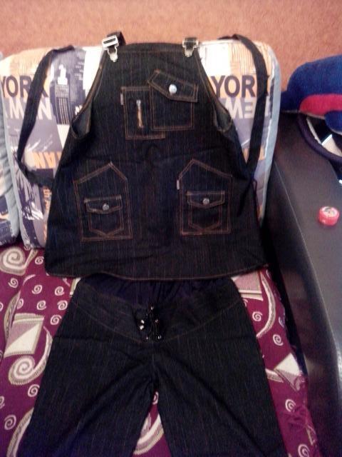 Продам Сарафан,Костюм, джинсы для беременной