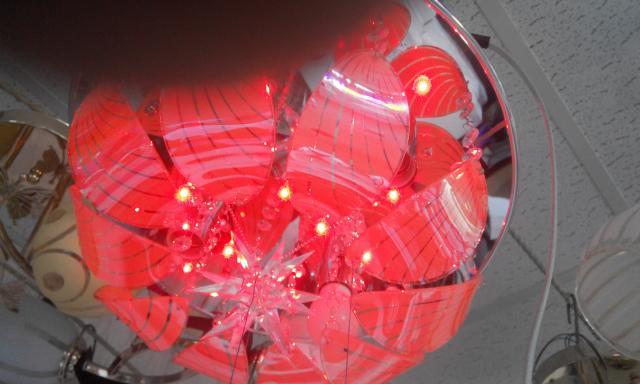 Продам: Led люстра с пультом включения м-06