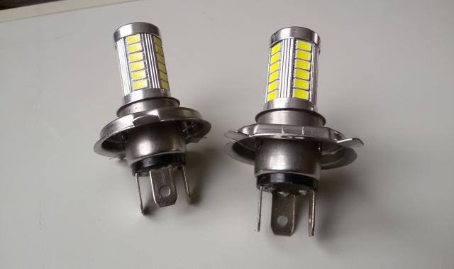 Продам автолампы Н4 (h4) светодиодные