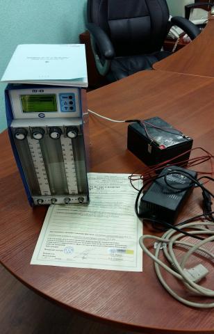 Продам аспиратор ПУ-4Э с поверкой и аккумулятор