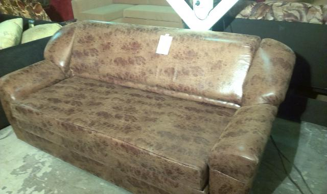 Продам: диван бу, эко кожа