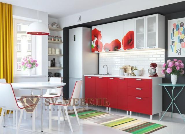Продам Кухонный гарнитур Маки (1,8 м)