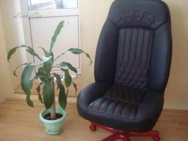 Предложение: Перетяжка офисного кресла.