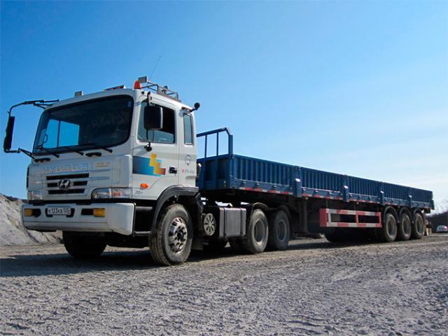 Предложение: Услуги длинномера 20 тонн, 13,6 метров
