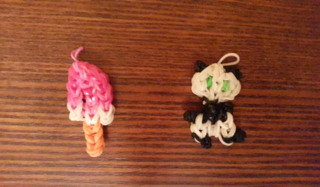 Продам фигурки плетения из резиночек