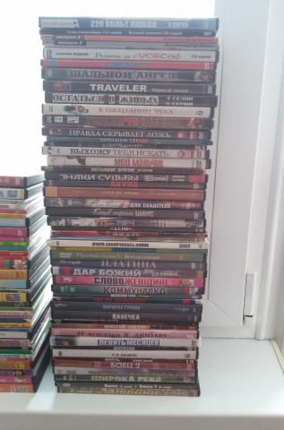 Продам Диски DVD фильмы, сериалы, мультфильмы.
