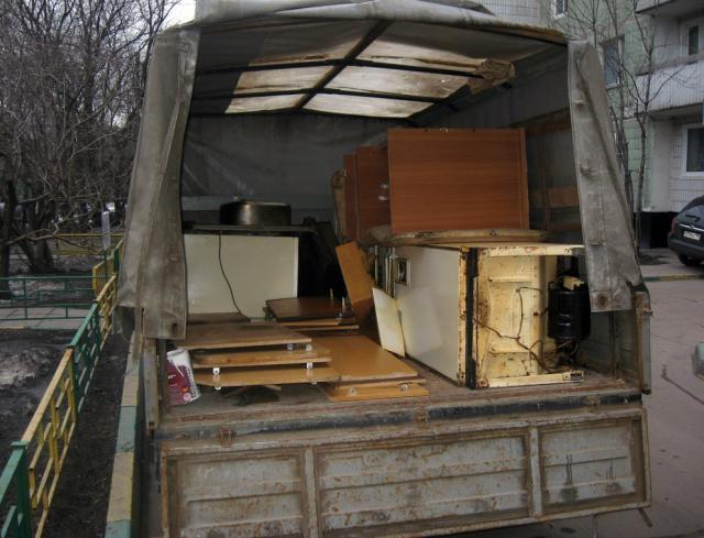 Предложение: Вывоз старой мебели на утилизацию
