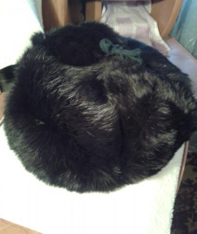 Продам: мужская кроличья шапка