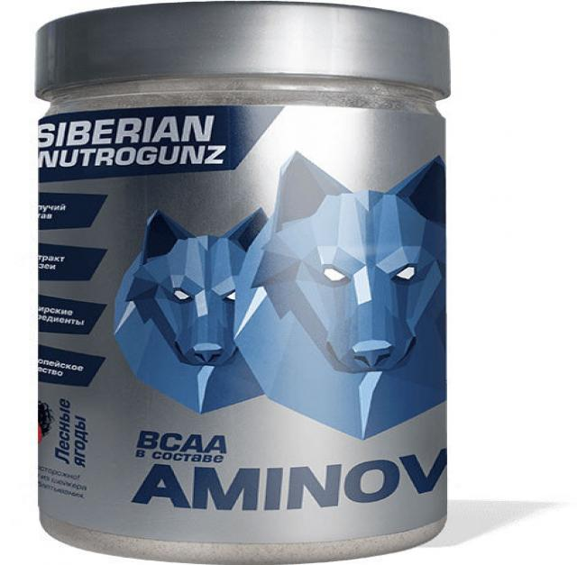 Продам BCAA Siberian Nutrogunz AminoVulf 200 г