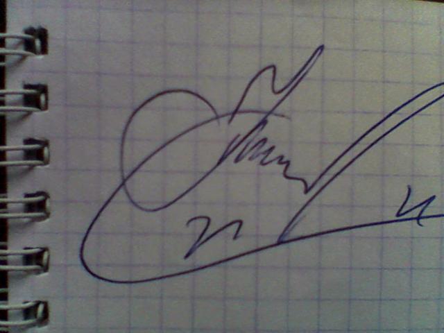 Продам автограф Р. Костомарова
