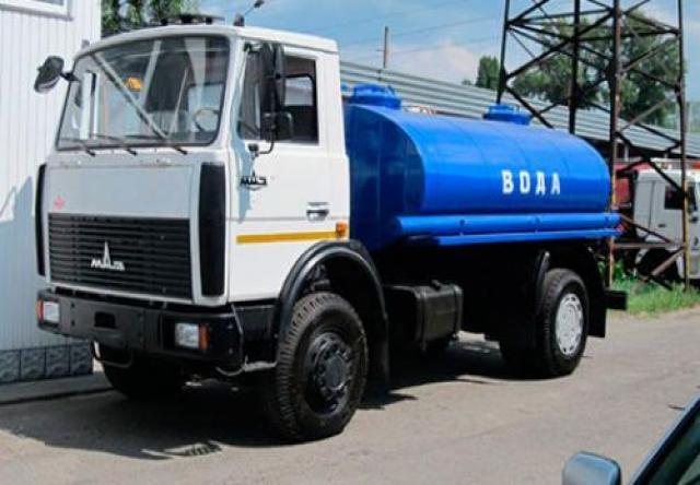Предложение: Водовоз. Доставка технической воды.