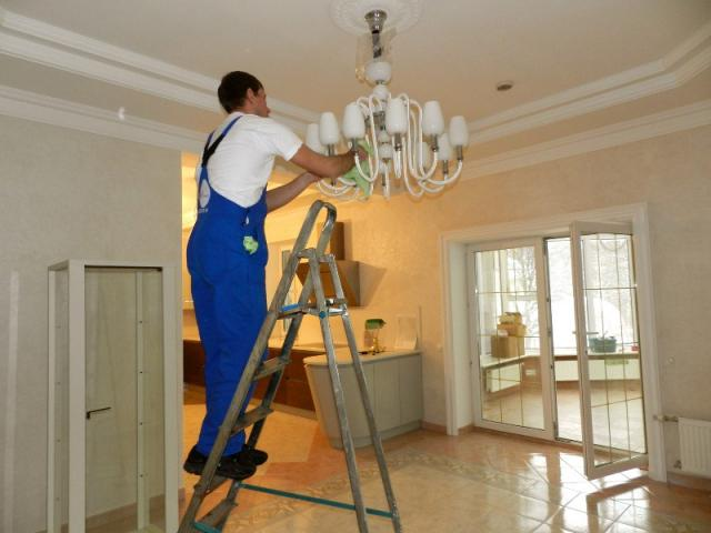 Предложение: Уборка после ремонта квартир домов