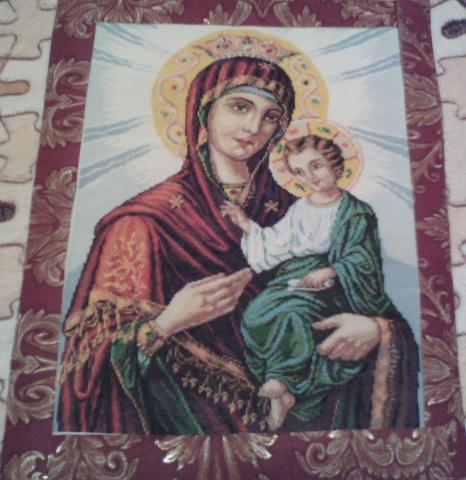 Продам: Вышивка Иверская икона Божией Матери