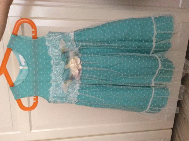 Продам: Платье бирюзовое детское