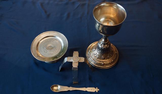 Продам Старинный Евхаристический набор. XIX век