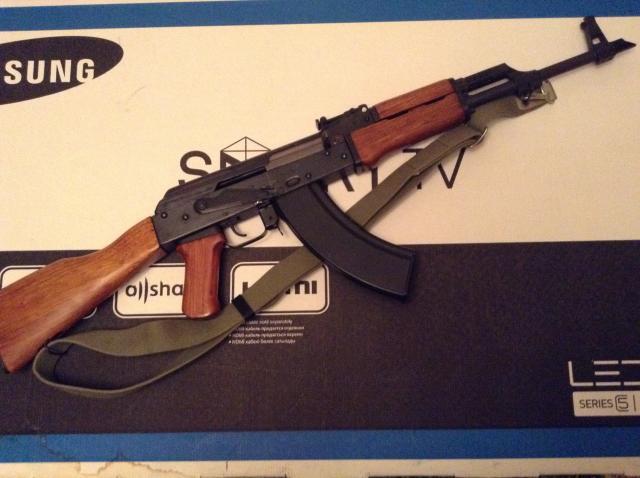 Продам АК-47 пневматический