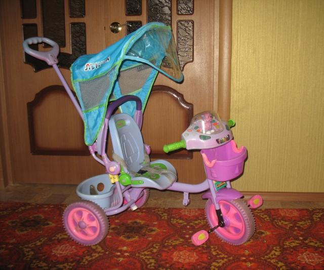 Продам детский велосипед трехкалесный