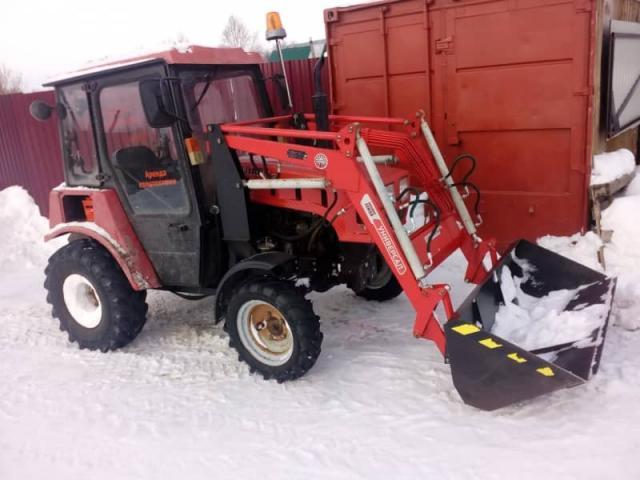 Предложение: Уборка снега трактором