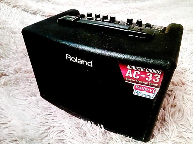 Продам Roland AC-33 (комбоусилитель для гитары)