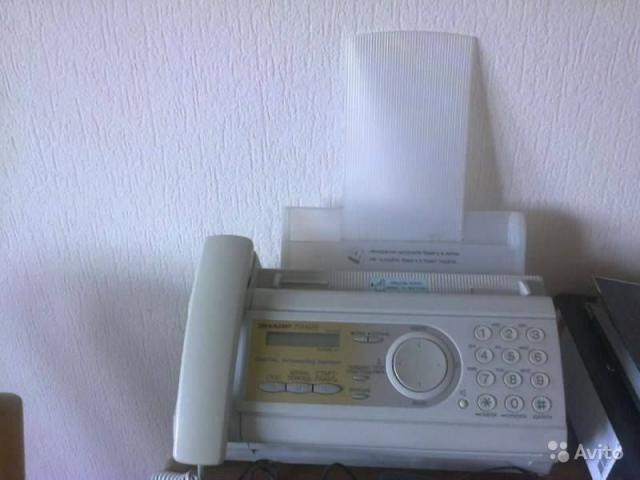Продам: Факс SHARP FO-A650