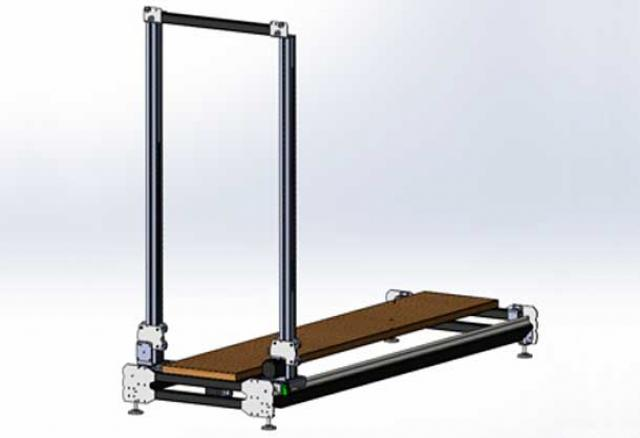Продам АРП-2Д-140-100 станок ЧПУ для пенопласта