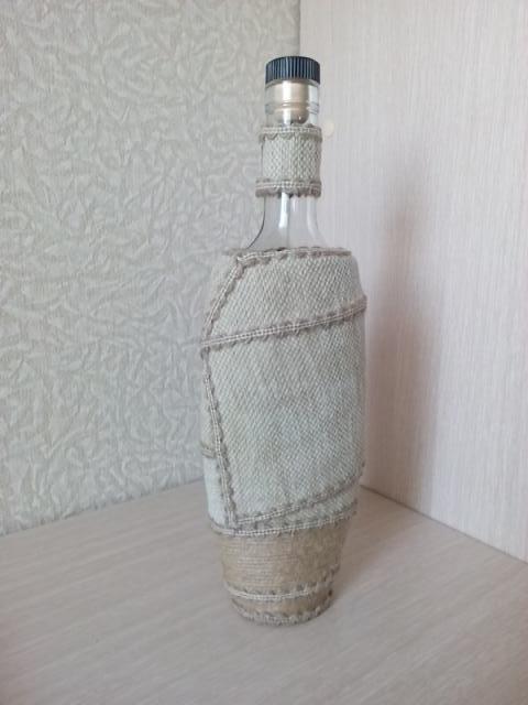Продам Декорированная бутылка под спиртное
