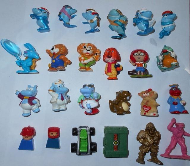 Продам Киндер сюрпризы коллекция.игрушки.отдам