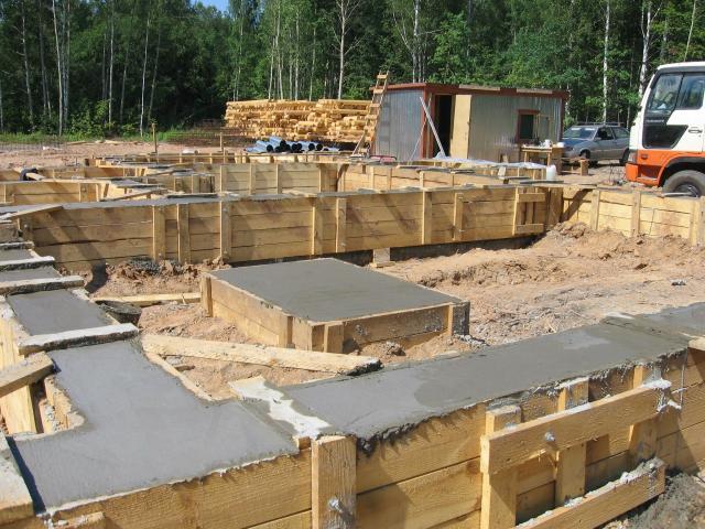 Предложение: Cтроительство фундамента