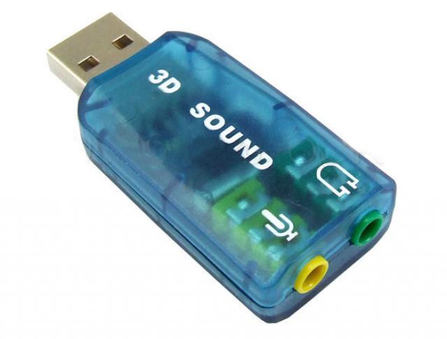 Продам Внешняя звуковая карта (USB SoundCard)