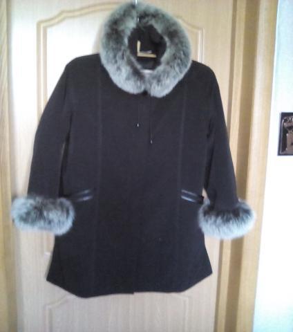 Продам Пихора, пальто-куртка, классика -50 разм