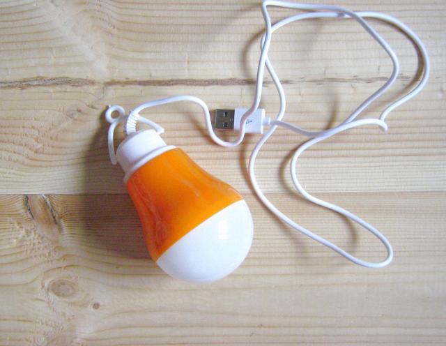Продам LED переносную лампу от USB