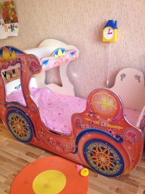 Продам Детская кровать-карета