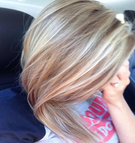 Предложение: Окрашивание волос на дому