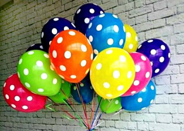 Предложение:  Воздушные шарики.Украшение праздников.
