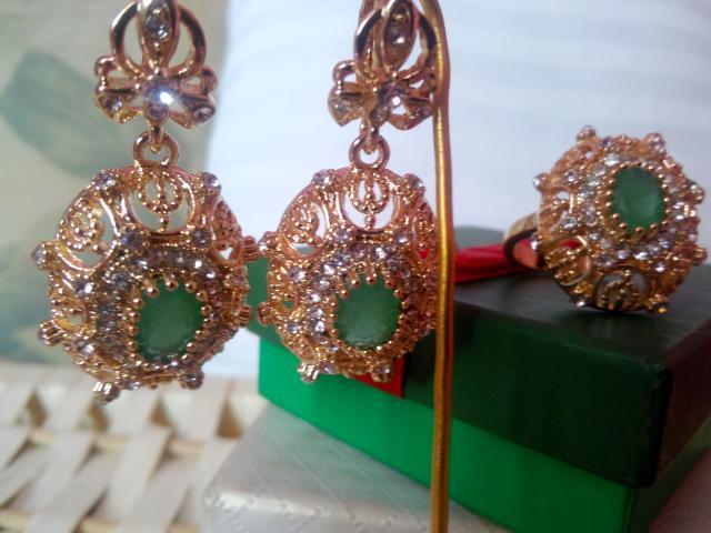 Продам Набор украшений под золото