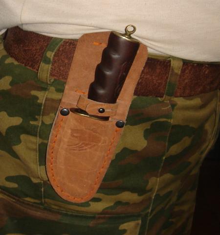 Продам Ножны для охотничьего ножа из кожи